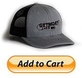 Hat w/Black Stitching